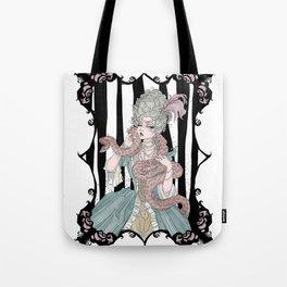 Madame Boa Tote Bag