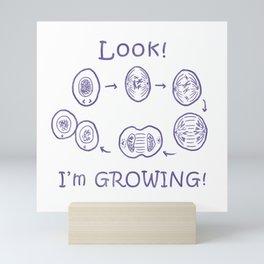 Funny Biology Memes Teacher Student Bacteria Gift Mini Art Print