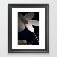 Flower Framed Art Print
