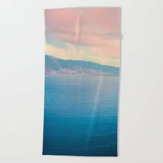 Pastel vibes 22 Beach Towel