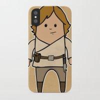 luke hemmings iPhone & iPod Cases featuring Luke by thejrowe