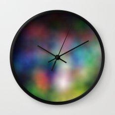 rainbowBlur Wall Clock
