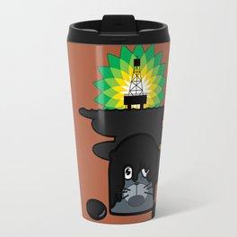 BP Oil Attack Travel Mug