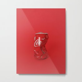 Coca Cola / 'Art on a Budget' - collab with Zlatena Anetalz Metal Print