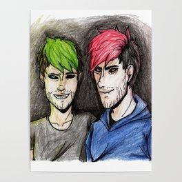 jack y mark youtubers Poster