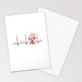 CHEF HEARTBEAT Stationery Cards