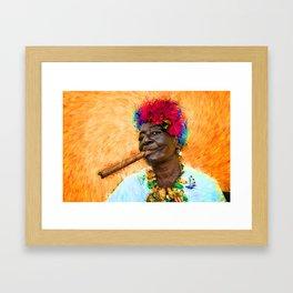 baba Framed Art Print
