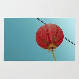 Chinese Lantern in Chinatown LA Rug