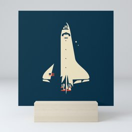 The Shuttle Mini Art Print