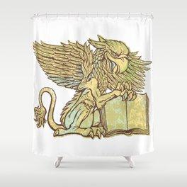 Griffon Shower Curtain