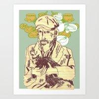 GENTLEMAN's TEA PARTY Art Print