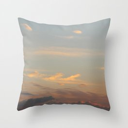 Brillas | sky photography  Throw Pillow