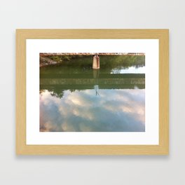 Rustic America: Our Reflection  Framed Art Print