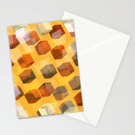 transparent cubes Stationery Cards