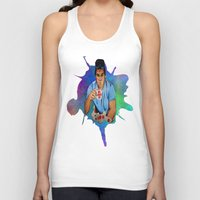 dexter Tank Tops featuring Dexter by Lydia Dick