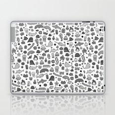 letter c - sea creatures Laptop & iPad Skin