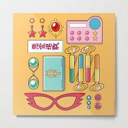 Inner Senshi Starter Kit  Metal Print