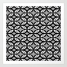 Projector Pattern Art Print