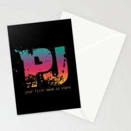 PJ - Your Light Made Us Stars Stationery Cards