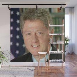 Bill Clinton Wall Mural