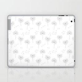 Dandelions in Grey Laptop & iPad Skin