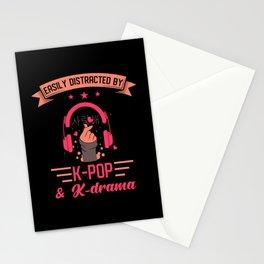 Kpop Kdrama Saying K-Pop K-drama Stationery Cards
