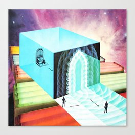 Welcome To The New World X Canvas Print
