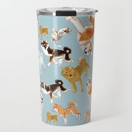 Japanese Dog Breeds Travel Mug