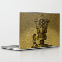 superheroes Laptop & iPad Skins featuring Superheroes SF by Rob Colvin Art