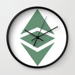 Ethereum Classic (ETC) Logo Wall Clock
