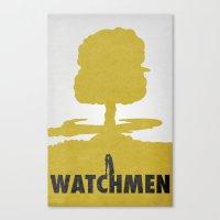 watchmen Canvas Prints featuring Watchmen by Travis English