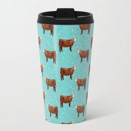 Simmental // Aqua // Sprinkles Travel Mug