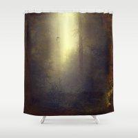 wonderland Shower Curtains featuring wOnderLand by Dirk Wuestenhagen Imagery