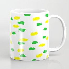 Lemon and Leaves Coffee Mug