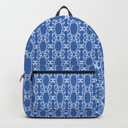 Abstract Letter G Pattern Backpack