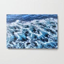 Sea x Metal Print