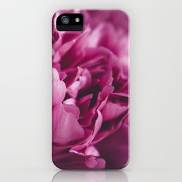 peonies [moody] 02 iPhone Case