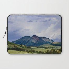 Electric Peak Yellowstone Laptop Sleeve