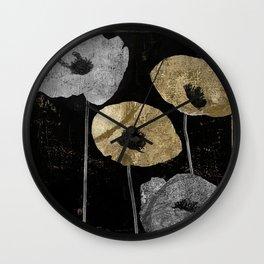 Poppyville Wall Clock