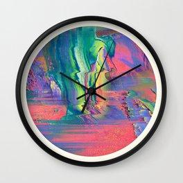 Psychotropic III Wall Clock