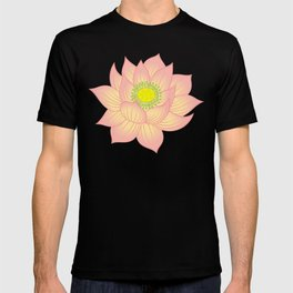 Om, Lily pad and Lotus Water Lily T-shirt