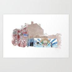 New Amstrdam Bar Art Print