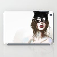 superheroes iPad Cases featuring Superheroes SF by Dnzsea