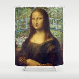 Da Vinci x Monet Shower Curtain