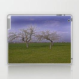 trees and fields near Laupheim Laptop & iPad Skin