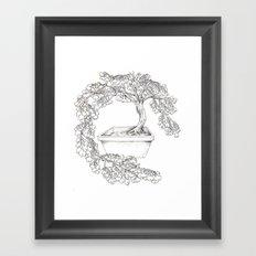 Ginkgo Tree Framed Art Print