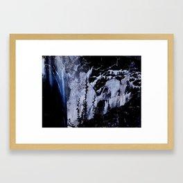Corner of Blue Framed Art Print