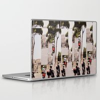 roman Laptop & iPad Skins featuring Roman Traffic by Eva Lesko