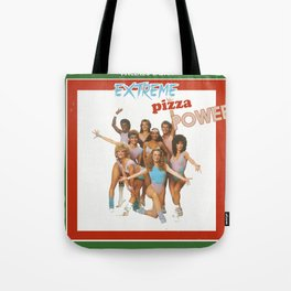 Extreme Pizza Power Tote Bag