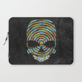 Hypnotic Skull Laptop Sleeve